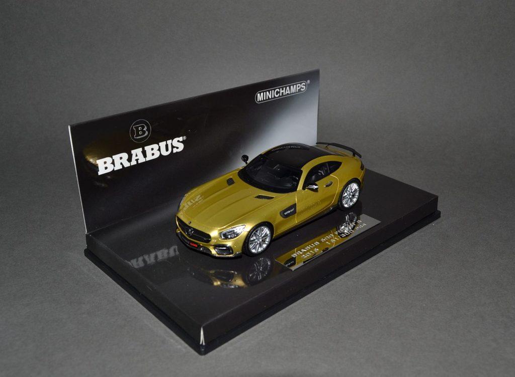 Minichamps Brabus AMG GTS_4
