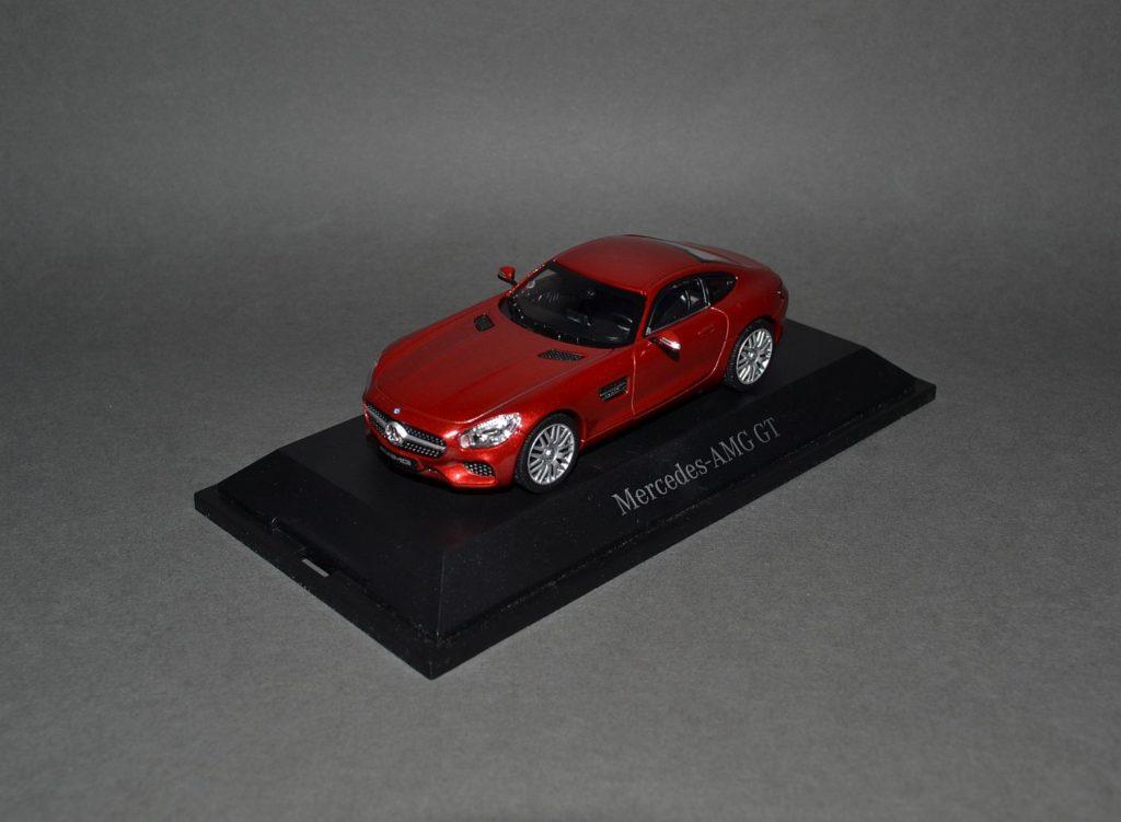 Norev Mercedes AMG GT red_4