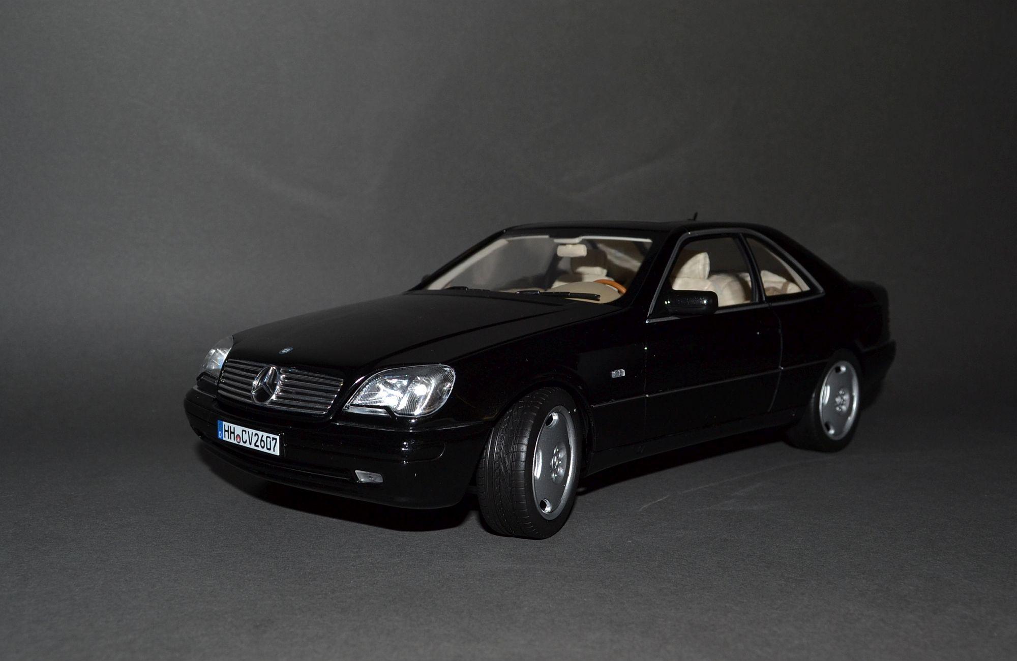 Mercedes CL600 C140 1:18