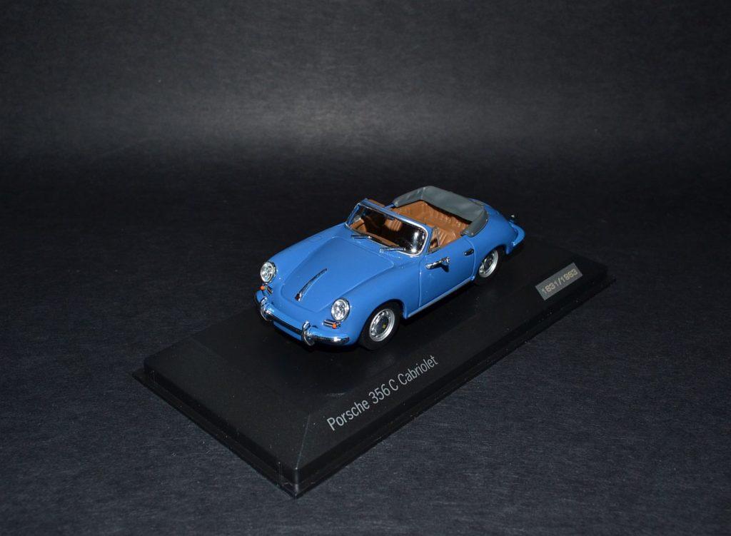 Minichamps Porsche 356 C cabriolet 1963 blue_4