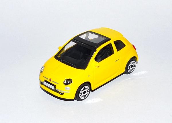 Fiat 500 yellow_Px