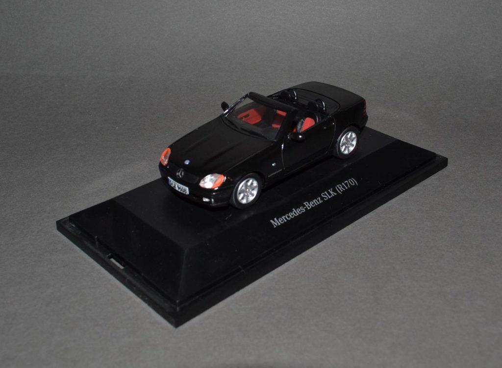 Mercedes SLK R170 black_5